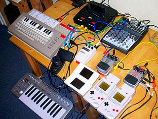 A chipmusic studio !!!