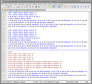 MML bundle for Notepad++ (on Windows)