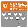 ATOM SPLITTER AUDIO - Games and 8-Bit Kit Volume 1